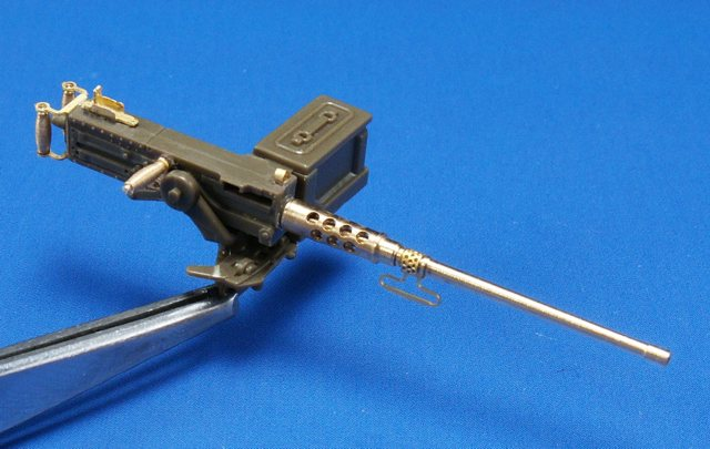35B013, 12,7mm (0.50cal) Browning M2 barrel, 1/35